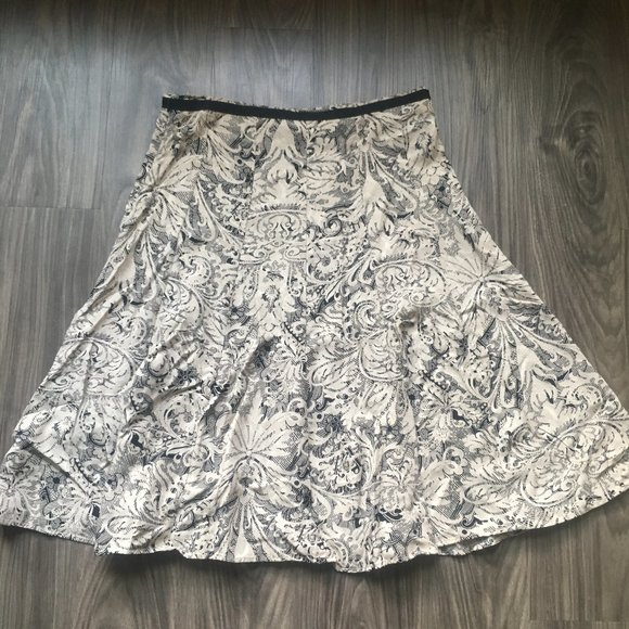 Christopher Banks Fit and Flare Skirt